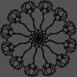 Circle black small